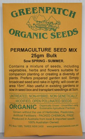Permaculture Seed Mix - Spring Summer